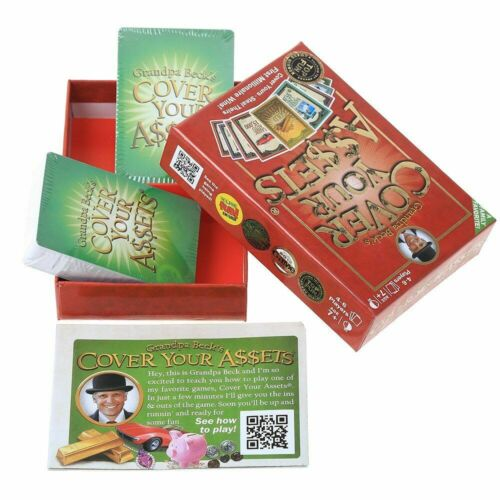 Cover Your Assets Grandpa Beck Fun Family Collecting English Ed New Card Game