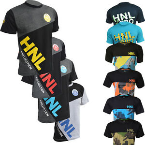 New-Men-Style-T-Shirt-Designer-Top-Style-Casual-Wear-TShirt-HNL-Projection
