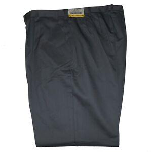 New WOMENS PANTS Plus Size 18W 24W Regular GREY 8650 DRESS SLACKS Unhemmed NWT