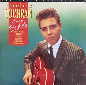 EDDIE COCHRAN C'MON EVERYBODY 20 ROCK N ROLL CLASSICS LP LIBERTY UK NEAR MINT