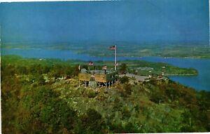 Vintage Postcard - Aerial View Fort Ticonderoga Lake Champlain Vermont VT #890