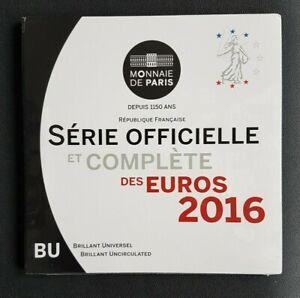 FRANCE - FRANCIA - COFFRET MONNAIE DE PARIS BU FRANCE 2016 - NEUF/UNC.
