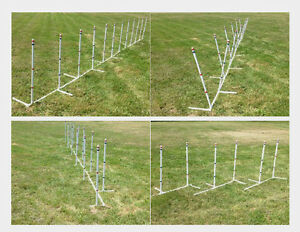 4-in-1-Dog-Agility-Equipment-Weave-Poles-Straight-Weave-o-Matic-Channel-or-2x2