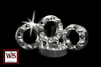 6lug | 1.5 Wheel Spacers | Adapters | 6x5.5 | 6x139.7mm| 7/16 | Chevy Gmc Truck