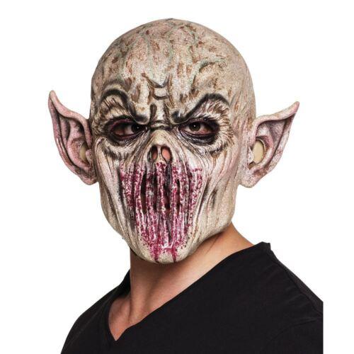 Adulte Alien Latex Masque Halloween Sci-Fi accessoires costume robe fantaisie