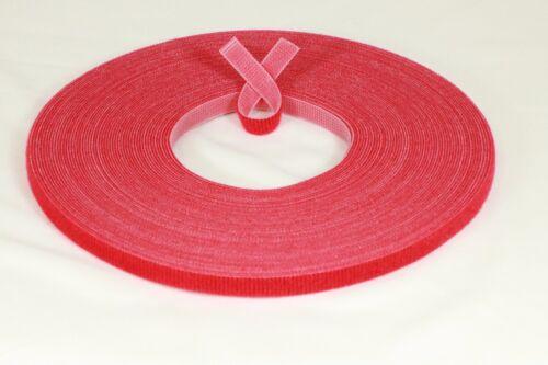 "Ultra Delgado Velcro ® Marca Hook /& Loop 3//8/"" cinta 25 yrd Plana Barco Muñeca de doble cara"