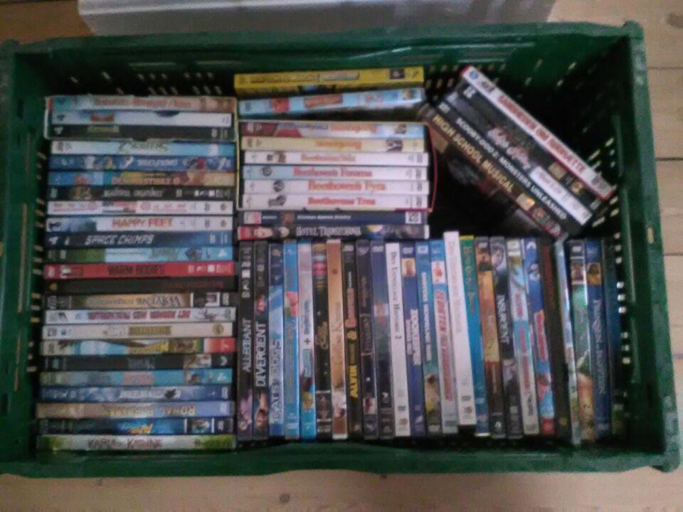 Mange forskellige, DVD, animation