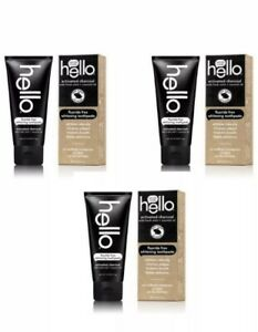 Hello Activated Charcoal Teeth Whitening Fluoride Free Toothpaste