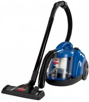 Bissell Zing Bagless Canister Vacuum, Caribbean Blue, Multi-surface Cleaning
