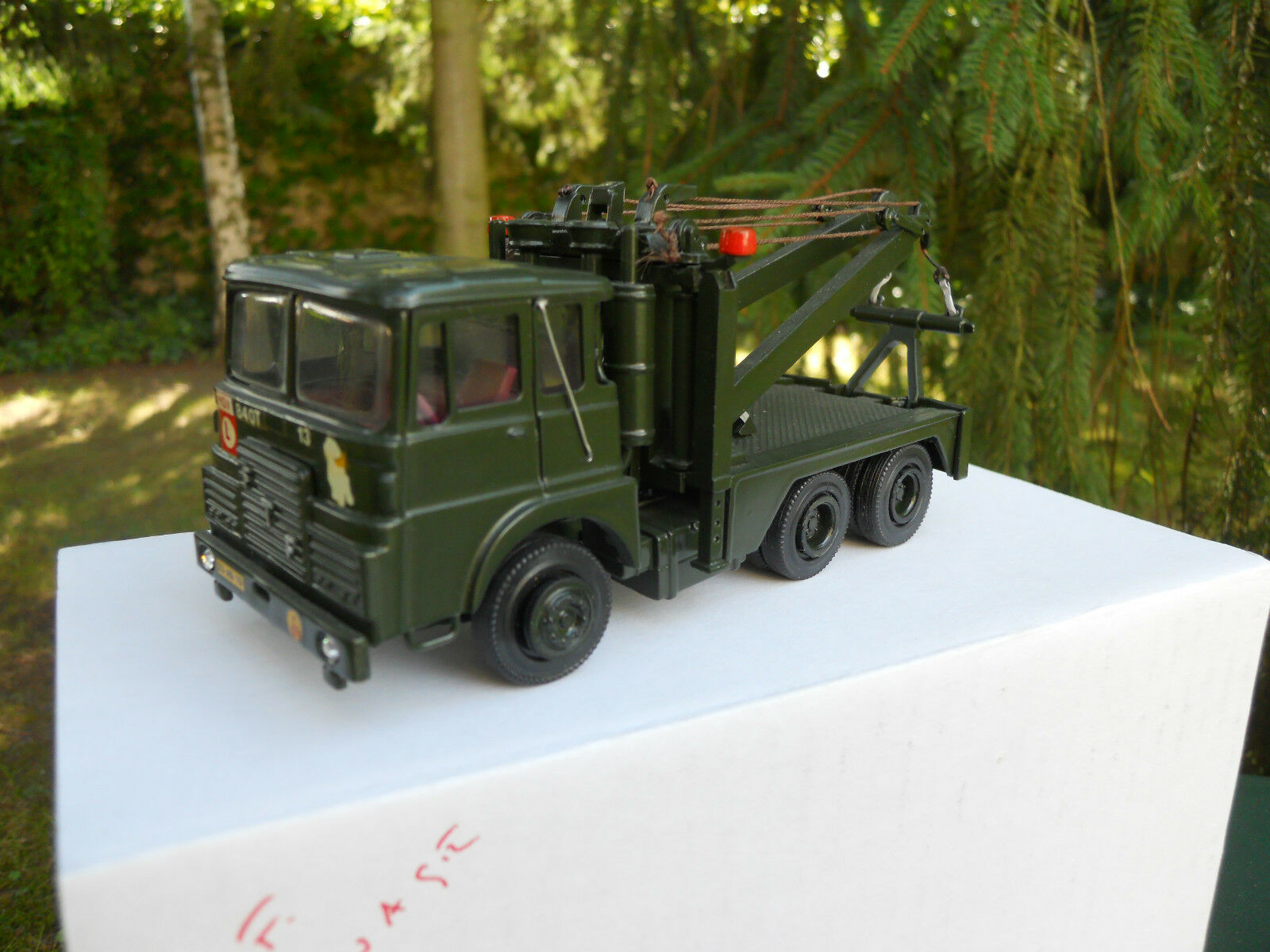 VEHICLE MILITARY A.SMITH A. MODELS FTF 6X4 RECOVERY OCCASION