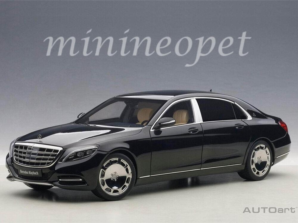 AUTOART 76293 Mercedes Benz Maybach S-Klasse S 600 1 18 Voiture Modèle Noir