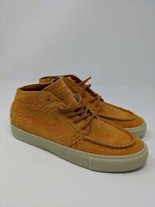 Details about Nike SB Zoom Stefan Janoski Mid RM Crafted AQ7460-887 Suede/Cinder Orange Sz 6.5