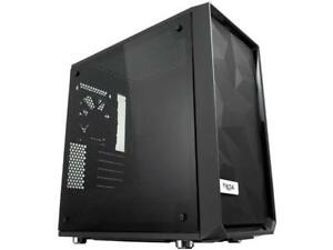 Fractal Design Meshify C Mini Black MicroATX High-Airflow Compact Tinted Tempere