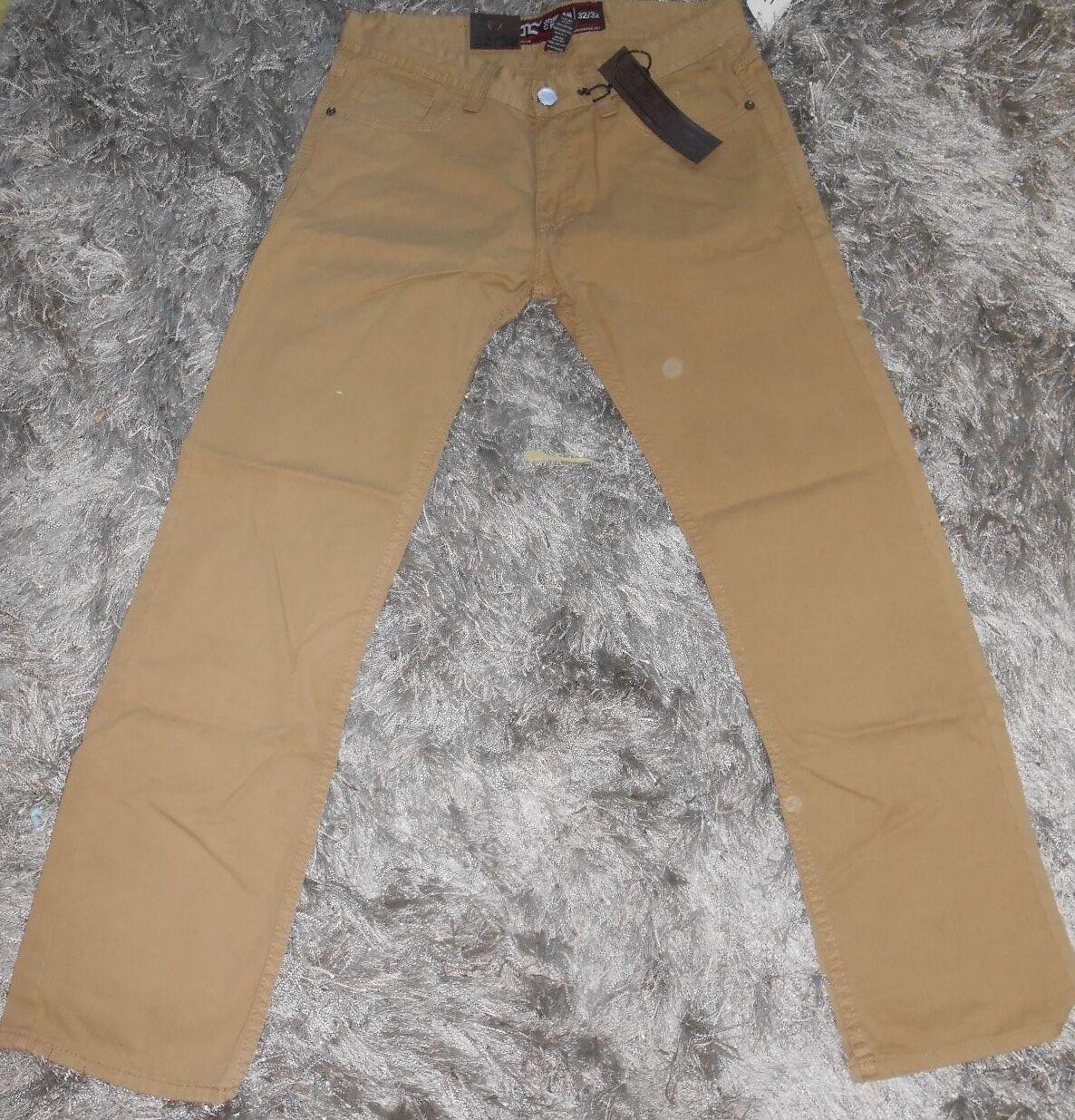 NEW Jordan Craig 100% Cotton Brown Khaki Pants,  Size 32 32
