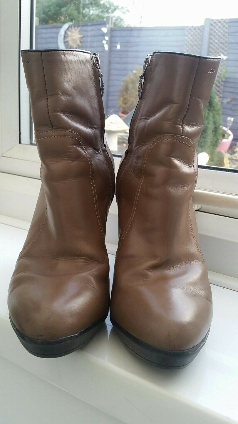 Geox Respira Ankle Boots, size 6UK EU 39 VGC -   Good Condition D03Q9N