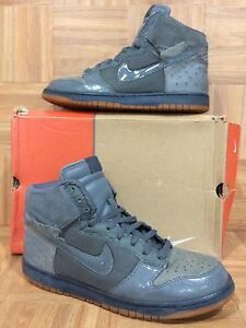newest 15581 48e63 Image is loading VTG-Nike-Dunk-High-Deluxe-Light-Graphite-Ostrich-