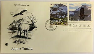 10-USPS-PCS-Alpine-Tundra-2007-41c-Stamp-FDC-Cover-4198A-First-Day-Issue-NEW