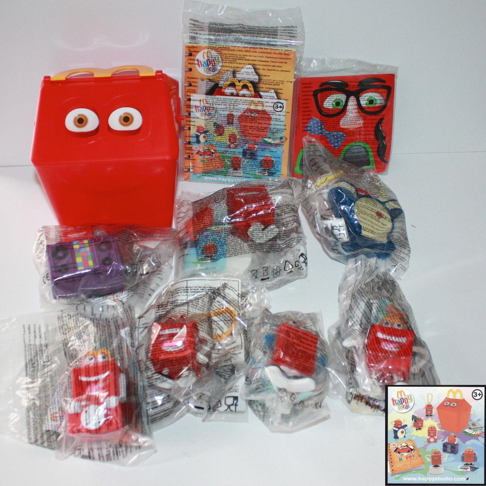 McDonald's Mc Donald's Happy Meal - 2011 Bag Red Studio Complete series the
