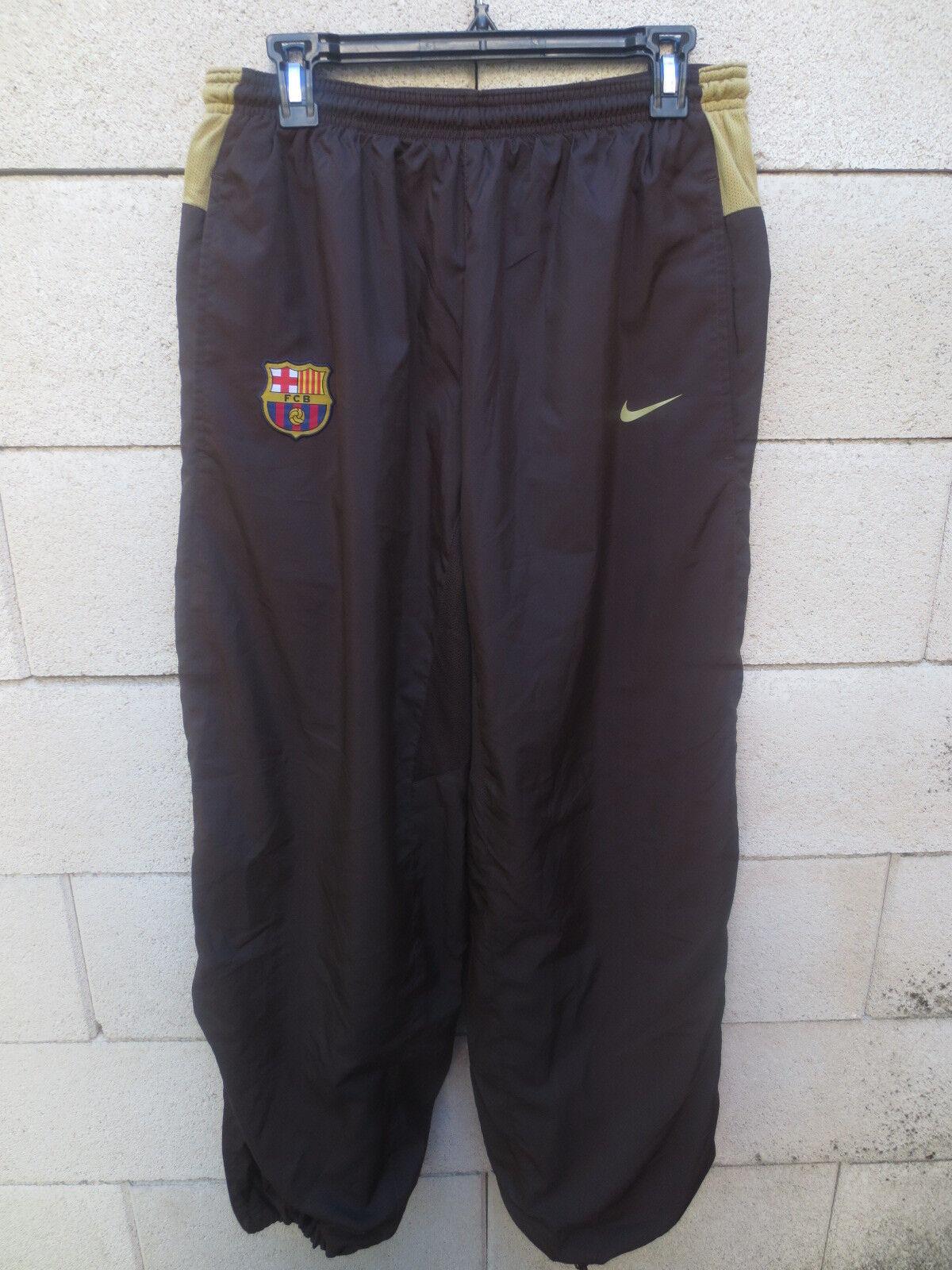 Pantalon F.C. BARCELONE BARCELONA NIKE pant brun fotbollsträning L