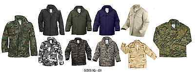 Military M-65 Field Jacket Camouflage Army Coat Durable Water Repellent Jacket