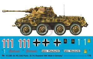 Peddinghaus-Decals 1//16 3578 Panther Ausf F Schmalturm 1945