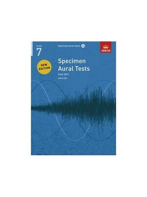 Official Website Abrsm Specimen Aural Tests Grade 7 2011 Learn To Play Lesson Music Book & Cd Instruction Books, Cds & Video