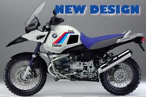 2019 Nouveau Style Bmw Custom Kit R1150gs Adv- Paris-dakar Look- Aufkleber-stickers- Autocollant Facile à Utiliser