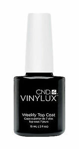 X4 CND Vinylux Weekly Top Coat .5 Oz