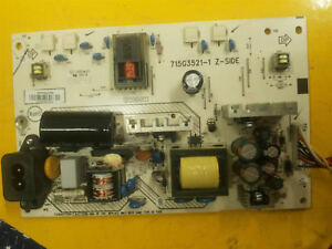 Power Supply Board 715G3521-1 Sharp LV19SH7E - Italia - Power Supply Board 715G3521-1 Sharp LV19SH7E - Italia