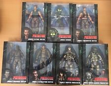 Full Set of Predator 30th Anniversary Action Figures by NECA