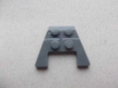 28842-2x3 plaque avec découpe et stud notches sur le dessous x1 Lego