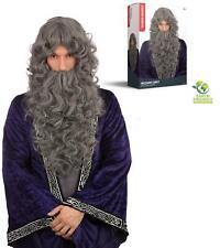 Halloween-Fancy Dress-Potter-Wizard-School HAGRID WIG /& BEARD SET One Size Only