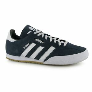 4 2018 14 Original Trainers Navy white Sizes Samba New Adidas Mens Shoes Suede Y76bIgvfy
