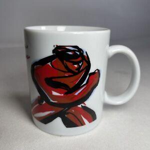 Seat Auto Emocion Passion & Power Art Coffee Tea Ceramic Mug Cup Car Driving VGC