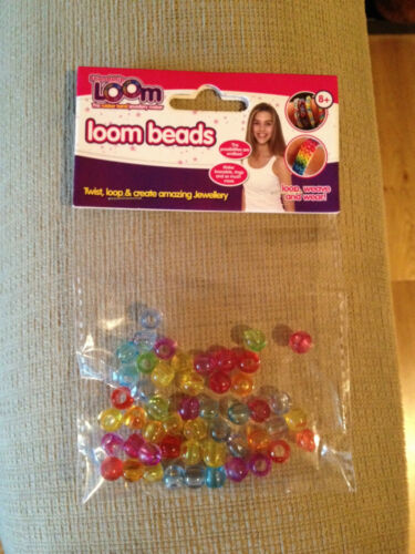 Loom band personnalisation perles