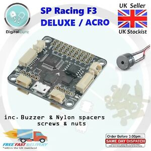 Details about SP Racing F3 DELUXE 10DOF or ACRO 6DOF Flight Controller -  Seriously Pro Naze32