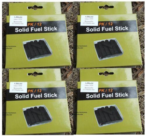 48 Stk Ersatzbrennstäbe Kohle Brennstifte für Handwärmer Taschenofen Brennstab