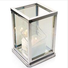Yankee Candle Luminous Infinity Jar Candle Holder Mirrored Modern Decor NIB gift