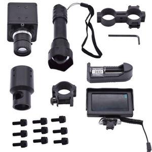 DIY-Night-Vision-Light-Rifle-Scope-amp-IR-Torch-Monitor-IR-Laser-Torch-Mount-Hunting