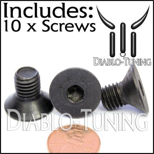M10-1.5 x 16mm FLAT HEAD Socket Cap Screws Countersunk CL 12.9 M10 Qty 10