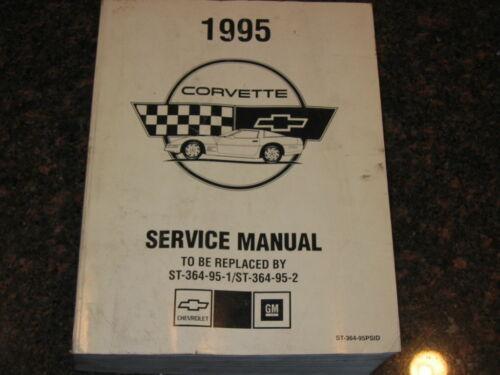 1995 CHEVY CORVETTE SERVICE SHOP REPAIR MANUAL