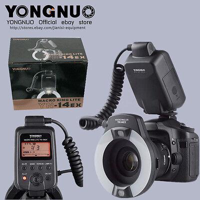 YONGNUO YN-14EX TTL Macro Ring Flash speedlite YN-14EX for Canon camera