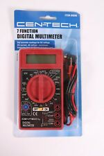 Cen Tech 7 Function Digital Multimeter Tester Acdc Lcd New Old Stock