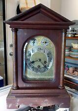 Antique JUNGHANS Mantel Clock Chiming Germany, Movement B10, Circa 1910