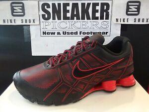 seleccione para genuino profesional mejor selección Nike Shox Turbo XII SL - 472531 060 - Black / Chilling Red - Size 10 -  Authentic 886668479422 | eBay