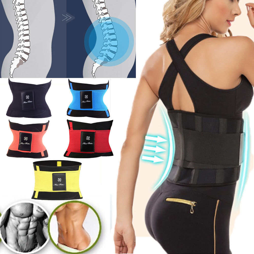 c1e6a4e486 Fitness Belt Xtreme Power Waist Shaper Gym Body Corset Sport Tecnomed Women  Kiwi 6 6 of 12 ...