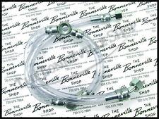 TRIUMPH BONNEVILLE T120 650 TWINS FUEL LINE ASSEMBLY FITS 1968-70 PN# 82-8133