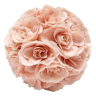 "10/"" Flower Balls Made Kissing Ball Pomander Floral Decor Centerpiece PInk"