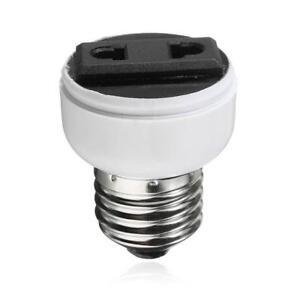 Image Is Loading E27 Lamp Light Socket Holder Bulb Convert