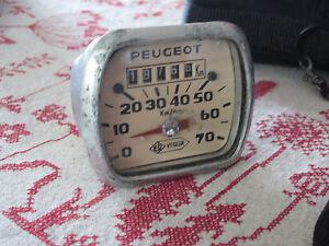 Compteur-de-vitesse-70-km-H-Peugeot-Veglia-BB-101-102-103-104-Bima-mobylette